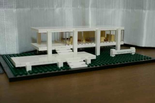 LEGO: 21009 Farnsworth Houseが美しい