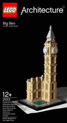 LEGO: 21013 Big Benが発売