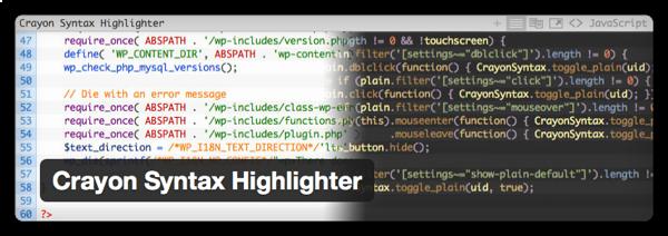 [WP] Crayon Syntax Highlighterでダブルクォートがデコードされないのを修正する