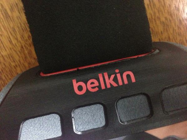 Belkin iPhone5 アームバンドを買ってみた