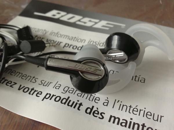 BOSE IE2があっという間に交換完了