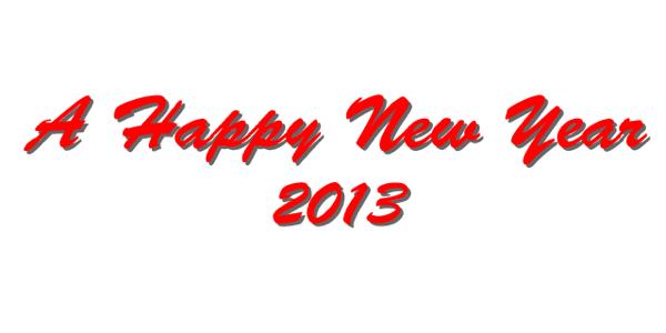 謹賀新年 2013年 元旦