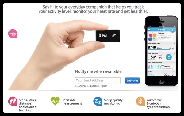 WithingsのSmart Activity Trackerも気になってFlexと迷っています
