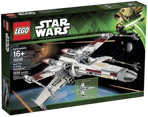 LEGO: 10240 UCS Red Five X-wing Starfighter が発表になりました