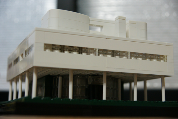 LEGO: 21014 Villa Savaye を組みました