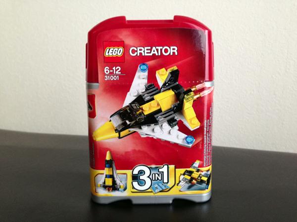LEGO: 31001 Mini Skyflyer を組みました