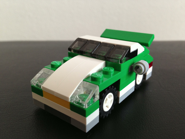 LEGO: 6910 Mini Sports Car を組みました