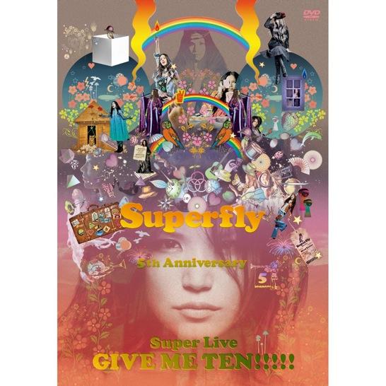SuperflyのライブDVD「GIVE ME TEN!!!!!」を予約しました
