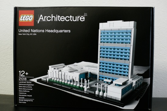 LEGO: 21018 United Nations Headquarters が早くも届きました