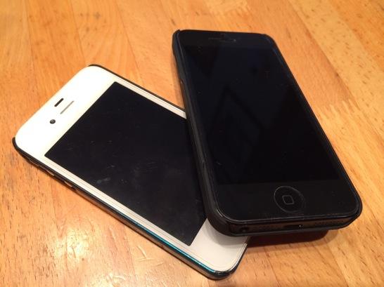 子回線をiPhone 5に持っていく方法は未だに判らないまま
