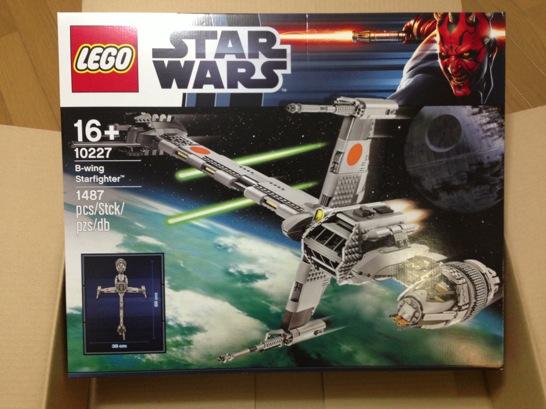 LEGO: 10227 B-Wing Starfighter を組みました [その1]