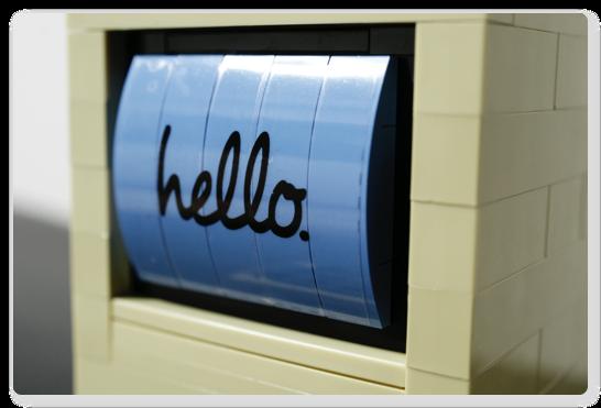 LEGOでつくる初代マッキントッシュが届いた、組んだ、これはスゴイ!