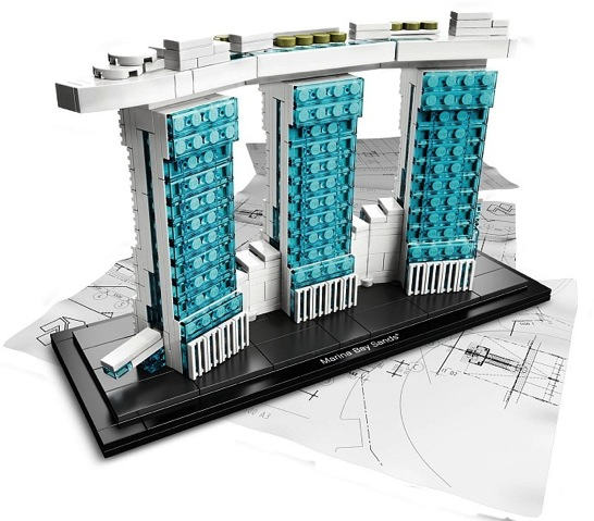 LEGO: 21021 Architecture Marina Bay Sandsがリリースされました