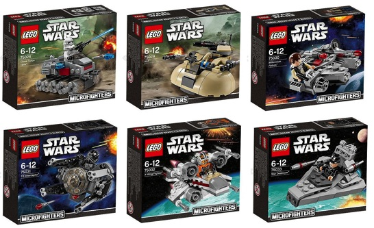 LEGO StarWars MicroFighters
