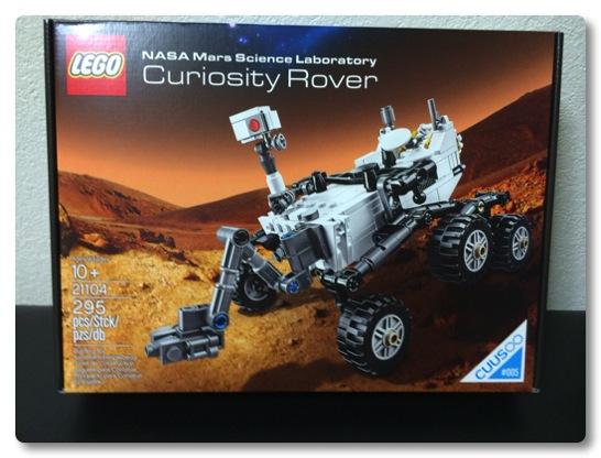 LEGO: 21104: Curiosity Rover を組みました、宇宙へのロマンを感じるモデルです