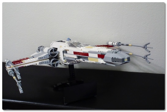 LEGO: 10240 Red Five X-Wing Starfighter を組みました [その2]