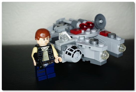 LEGO: 75030 マイクロファイターのミレニアム・ファルコンを組みました