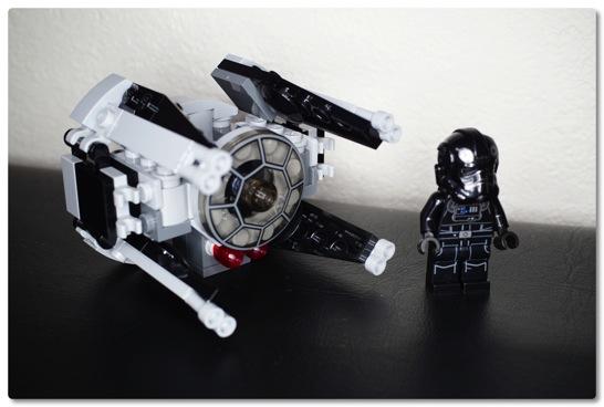 LEGO: 75031 マイクロファイターのタイ・インターセプターを組みました