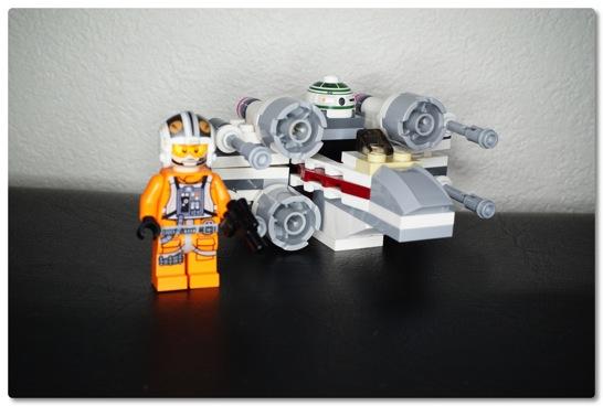 LEGO: 75032 マイクロファイターのXウィング・ファイターを組みました