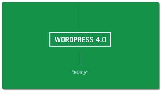 WordPress 4.0日本語版にアップデートしました