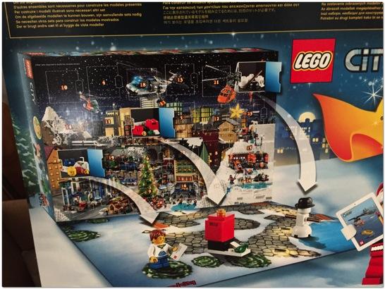 LEGO アドベントカレンダーが今年もやってきました…12月までストックしておこうと思ったら…
