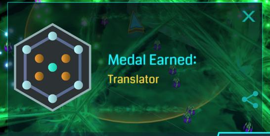 Translatorメダルがやっとシルバー、グリフハック覚えてますか?