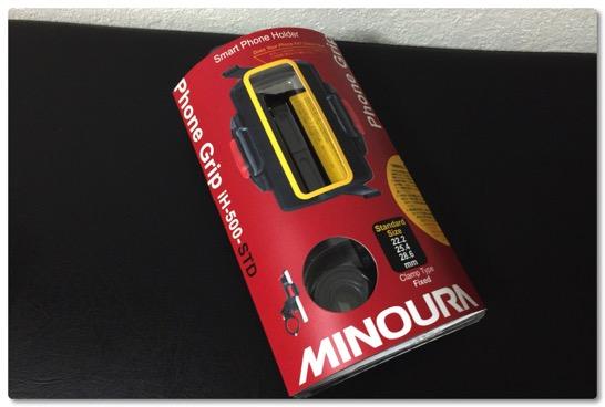 自転車用のスマートフォンホルダーが壊れたので MINOURA のホルダーを買ってみました
