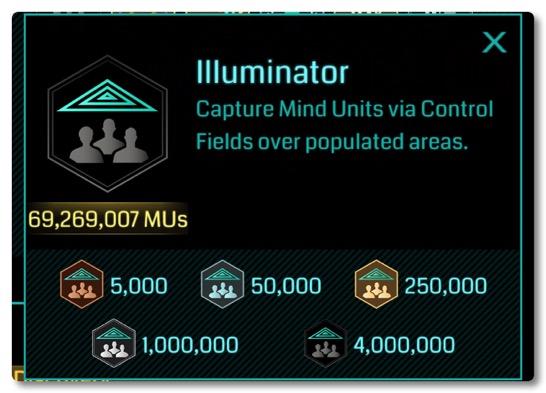 先週は MUメダル Illuminator が実装されてオニキス祭りが開催されたようですね