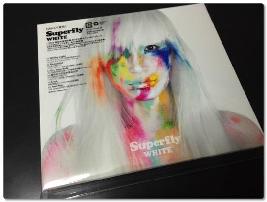 Superfly のニューアルバム WHITE が届きました