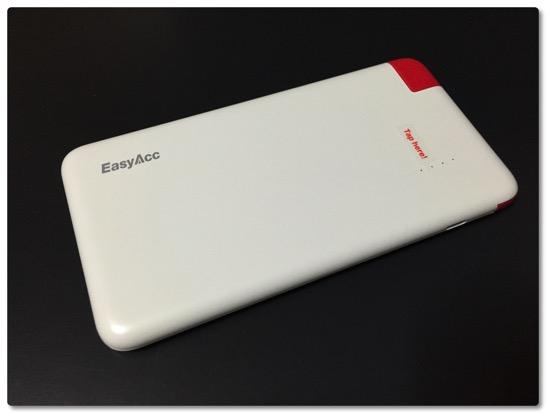 EasyAcc PB4000CB は軽くて薄い、モバイルバッテリーもTPOに合わせてみませんか?