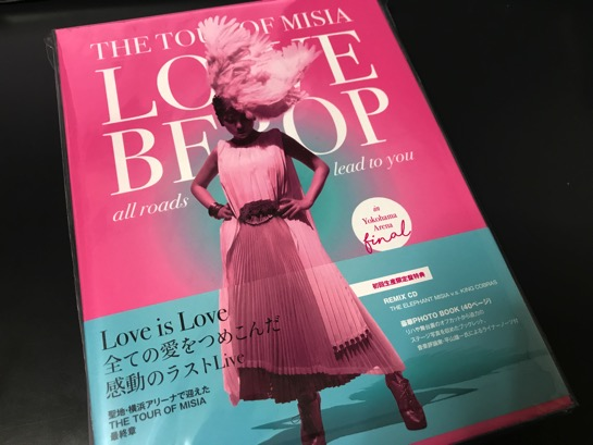 THE TOUR OF MISIA LOVE BEBOP は MISIA ファンは必見のライブ