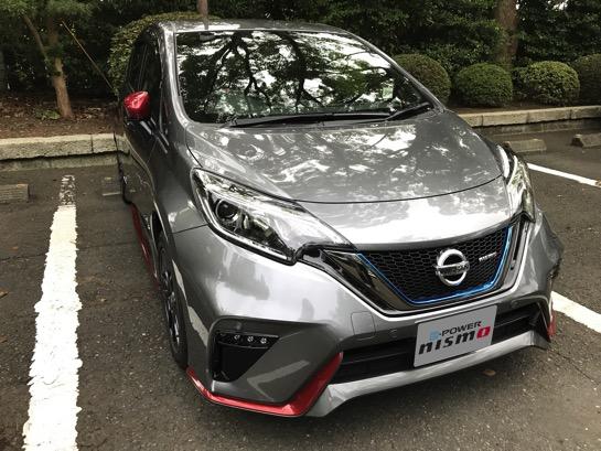このたび電気自動車乗りになりました、新しい愛車はNOTE e-POWERです