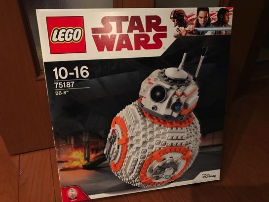 LEGO 75187 Star Wars BB-8 が届きました