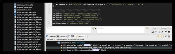 [WP] All in One SEO とテーマの組み合わせによってはタイトルにブログ名が重複する