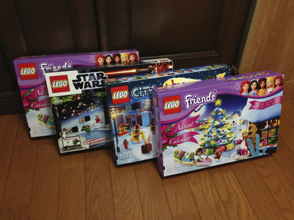 [LEGO] Advent Calendar 2012 3種類到着