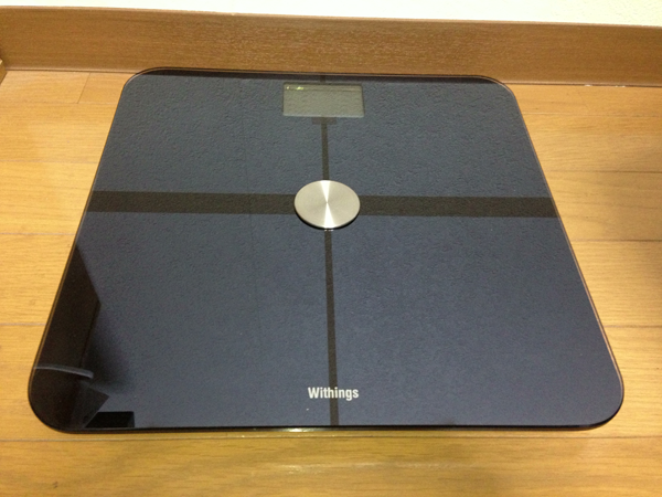 Withings Body Scaleをついに買ってしまった