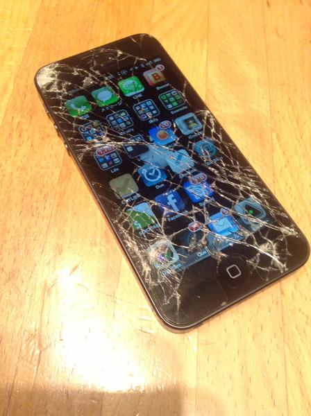 新年に備えて iPhone 5 を新しくしました!