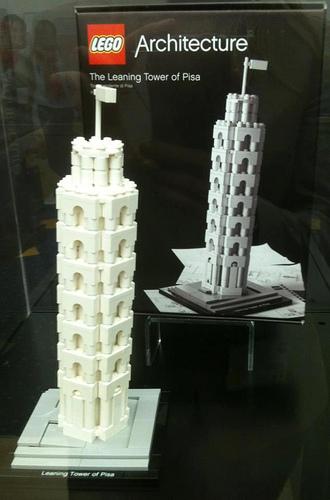 LEGO: 21018 The Leaning Tower of Pisa がリリースされるようです