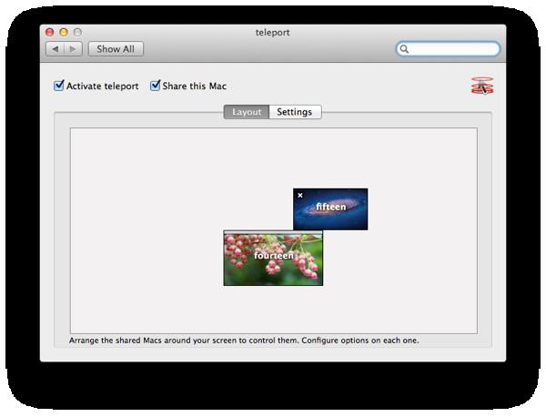 複数台の Mac をまとめて操作する Teleport を導入した
