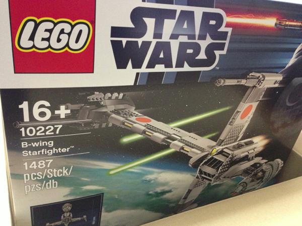 LEGO: 10227 B-wing Starfighter が届きました