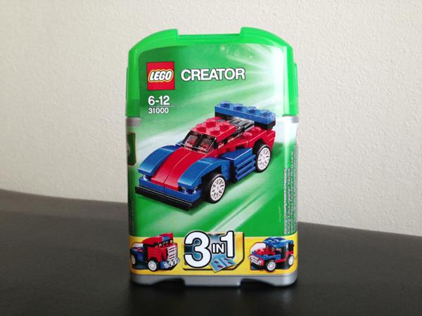 LEGO: 31000 Mini Speeder を組みました