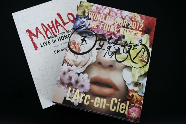 L'Arc〜en〜Ciel の World Tour の DVD が良かった