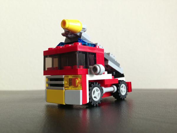 LEGO: 6911 Mini Fire Rescue を組みました。これはオススメです