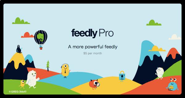 Feedly Pro が始まりました! 先着 5000 名の枠には入れたらしい