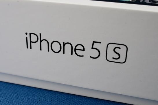 iPhone 5s 開封の儀 スペースグレーも渋くてイイ!