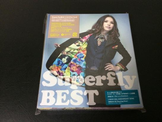 Superflyのベストアルバムはいい感じ!