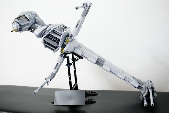 LEGO: 10227 B-Wing Starfighter を組みました [その2]