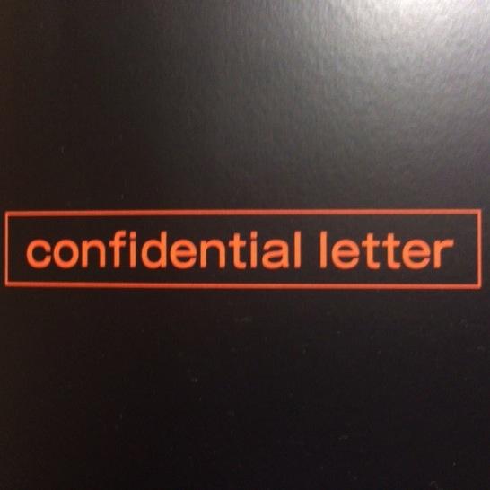SONYから物々しい「Confidential Letter」が届いていた!