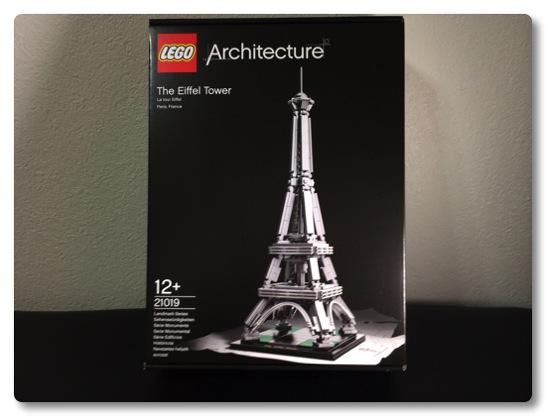 LEGO: 21019 The Effel Tower を組みました、実際に組んでみると予想以上にカッコいいモデルでした