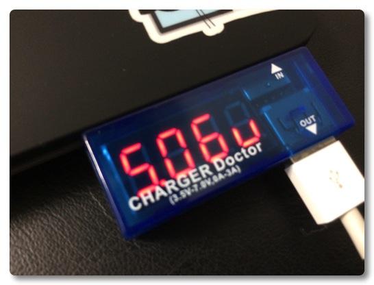 ケーブルチェックのためにUSB電圧・電流チェッカーを買ってみた